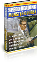 SPEED READING MONSTER COURSE eBook