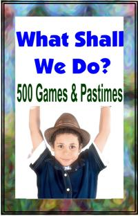 500 GAMES AND PASTIMES ebook