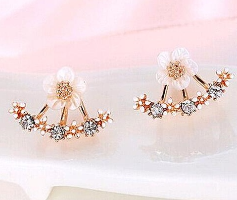 DAISY AND CRYSTAL ROSE GOLD COLOR SET