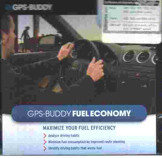 GPS BUDDY FUEL ECONOMY Software for Garmin