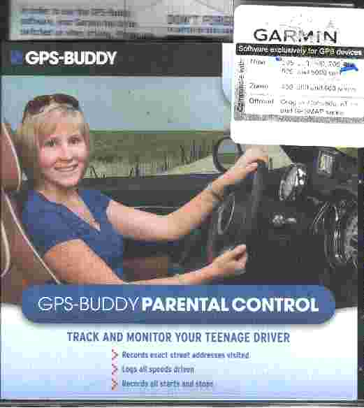 GPS BUDDY PARENTAL CONTROL Software for Garmin
