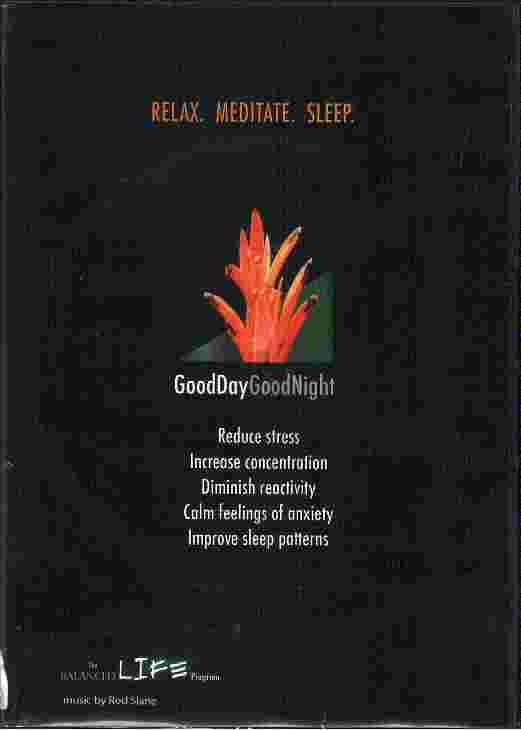 GOOD DAY GOOD NIGHT Read Meditate Sleep