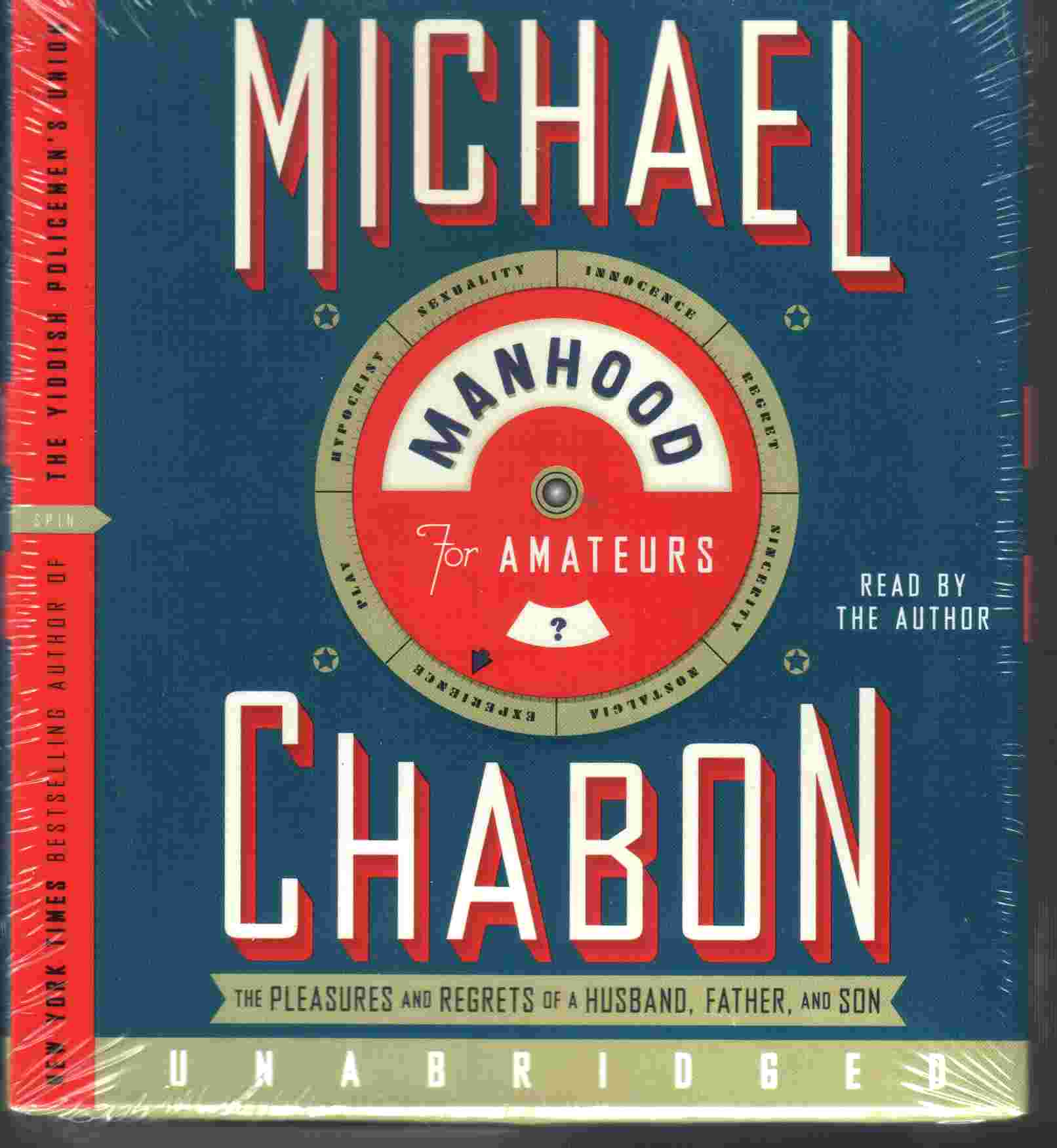MANHOOD FOR AMATEURS by Michael Chabon