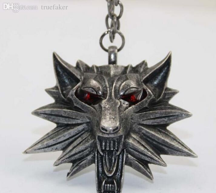 ANGRY WOLF PENDANT