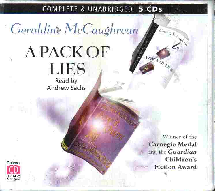 A PACK OF LIES by Geraldine McCaughrean