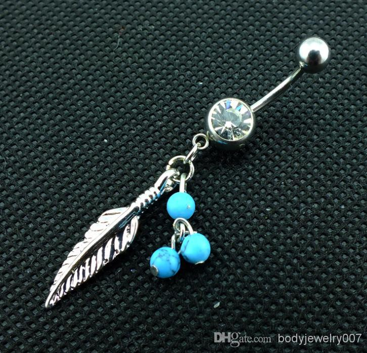 SOUTHWEST DANGLE BELLY RING