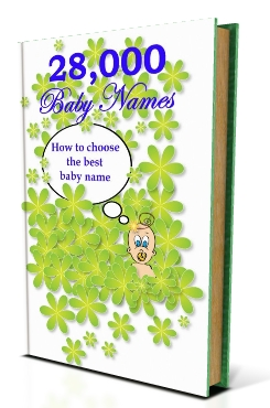 28,000 BABY NAMES Ebook