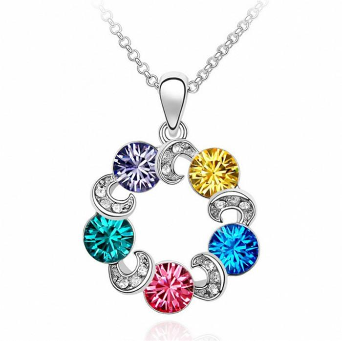 RING OF COLOR NECKLACE