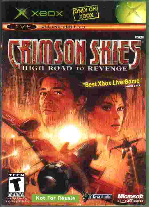 CRIMSON SKIES - HIGH ROAD TO REVENGE xbox game