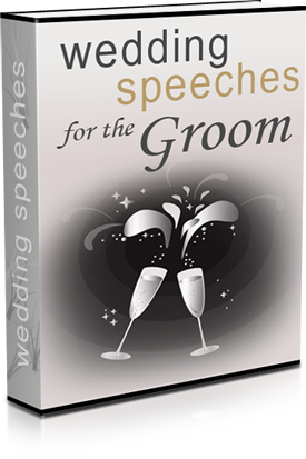 WEDDING SPEACHES FOR THE GROOM eBook