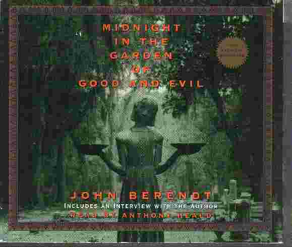 Midnight In The Garden Of Good And Evil By John Berendt Used Good Auduiobook Z175