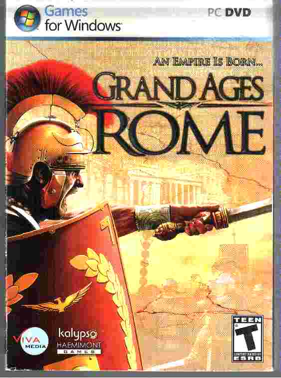 GRAND AGES - ROME windows PC DVD Game