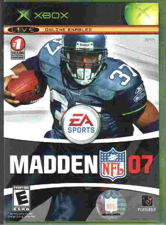 MADDEN NFL 07 - xbox game