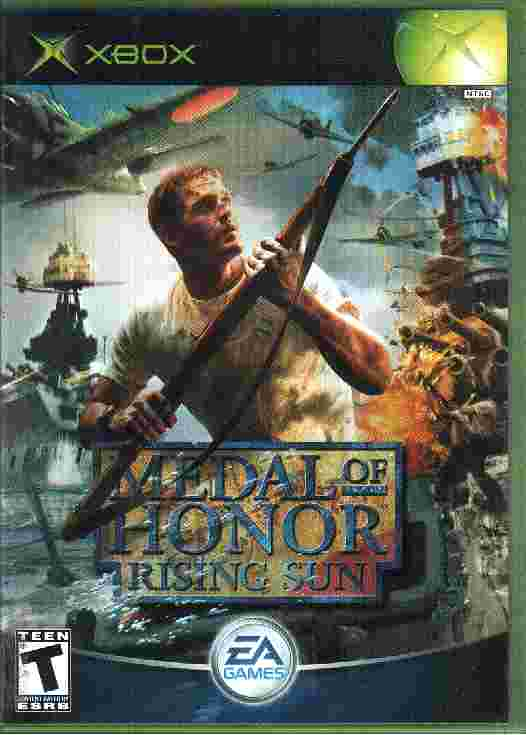 MEDAL OF HONOR - RISING SUN xbox game