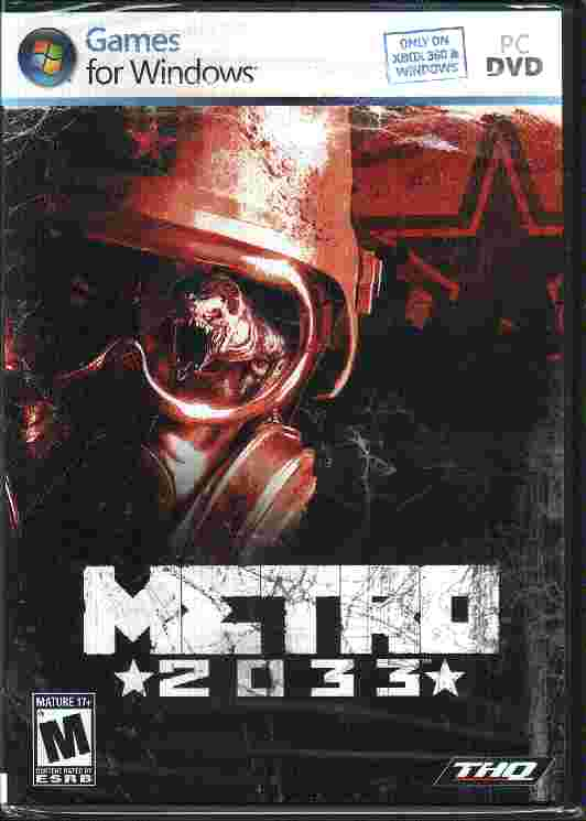 METRO 2033 Game for Windows PC