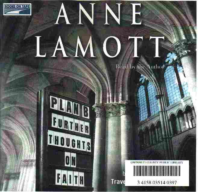 PLAN B by Anne Lamont