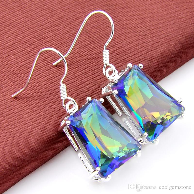FIRE RAINBOW MYSTIC EARRINGS