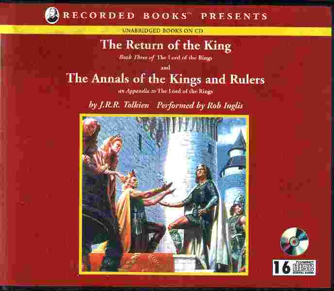 THE RETURN OF THE KING & THE APPENDIX by J.R.R. Tolkien