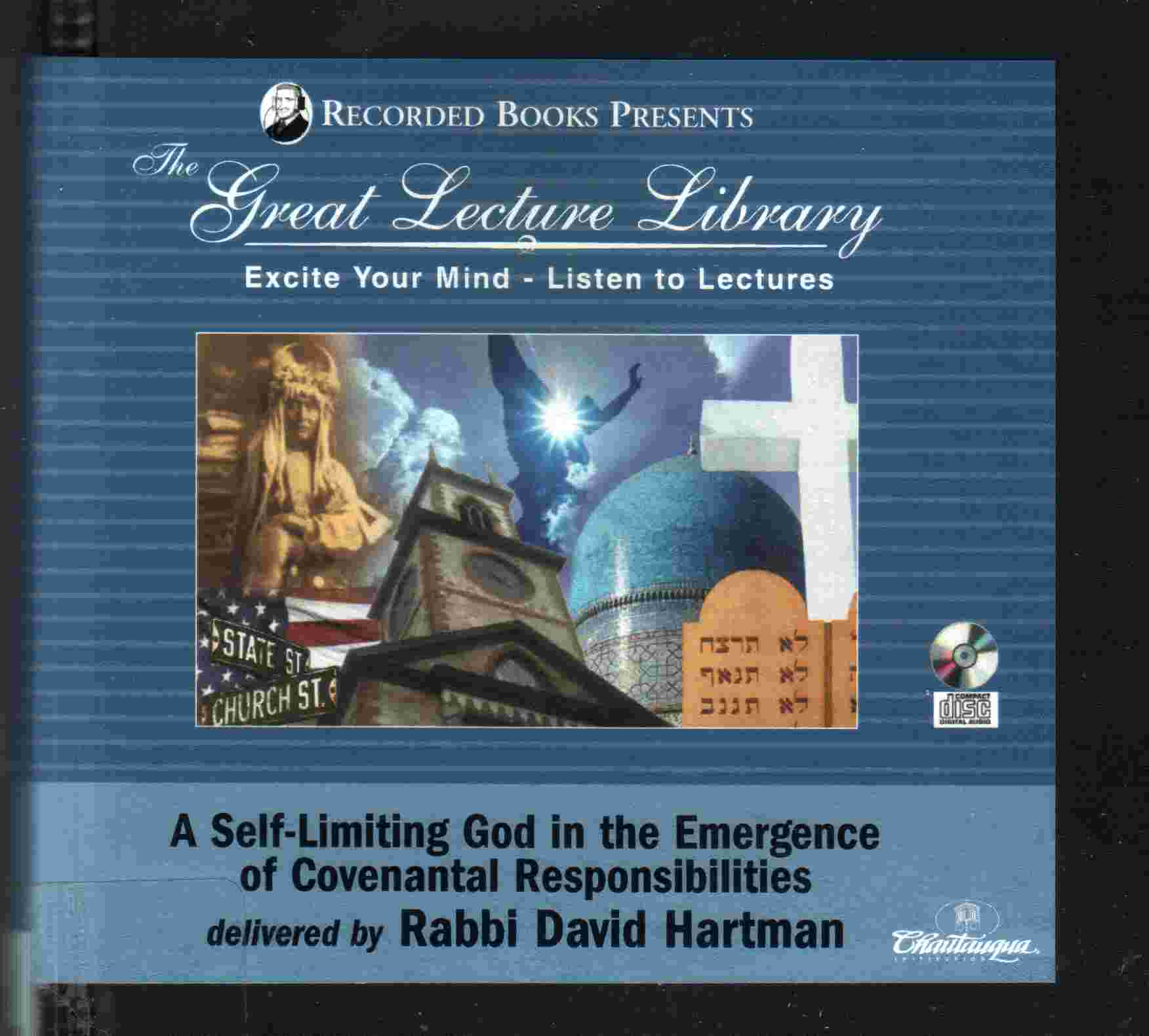 The Great Lecture LIbrary by Rabbi David Hartman
