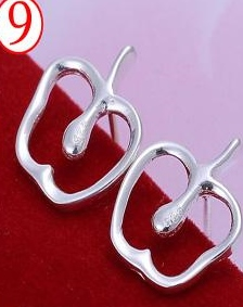 SILVER COLOR TONSIL EARRINGS