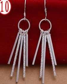 SILVER COLOR DANGLE CHIMES