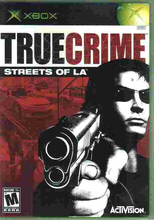 TRUE CRIME STREETS OF LA xbox game