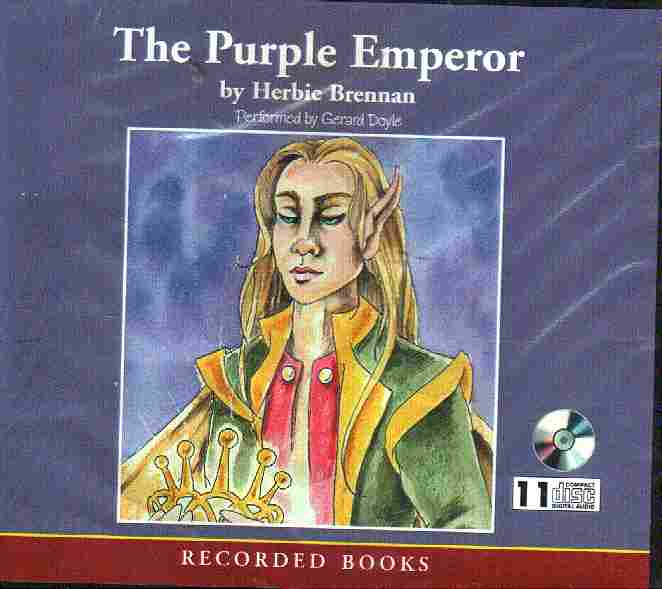 THE PURPLE EMEROR by Herbie Brennan
