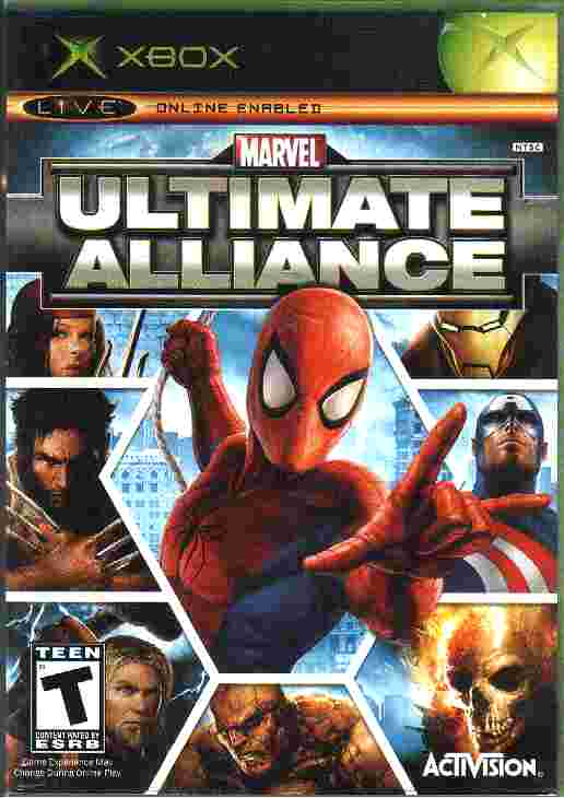 ULTIMATE ALLIANCE - Marvel xbox game