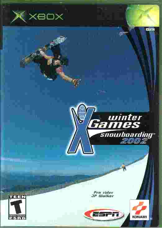WINTER XGAMES - SNOWBOARDING 2002 - xbox game