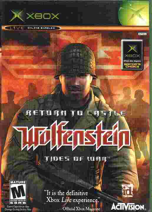 RETURN TO CASTLE WOLFENSTEIN - TIDES OF WAR xbox game