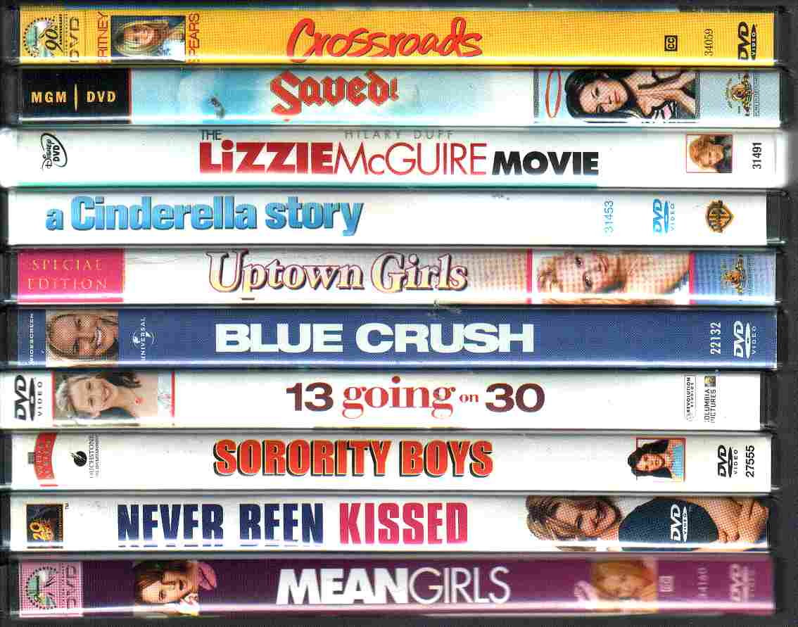 10 USED Young Adult Chick Flicks